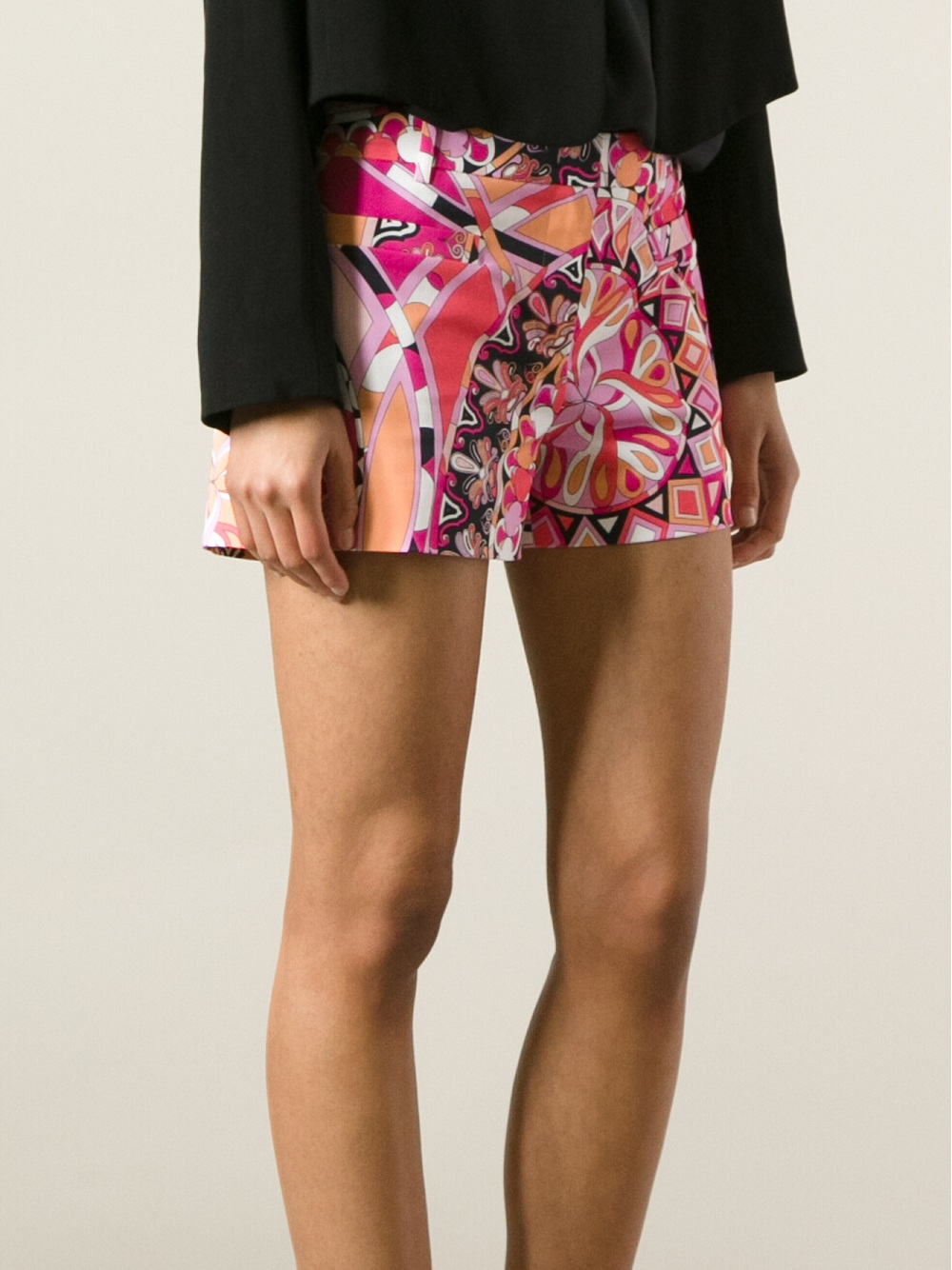 Emilio Pucci printed shorts Get To Buy Cheap Price bZfdaWV8r