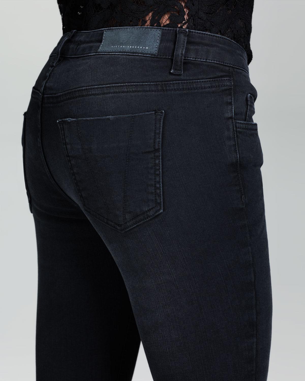 victoria beckham superskinny jeans black in black lyst. Black Bedroom Furniture Sets. Home Design Ideas