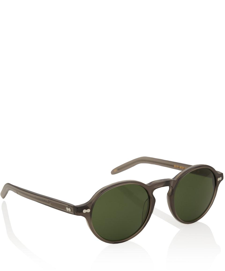 4b05f8e5a1 Lyst - Moscot Grey Glick Acetate Sunglasses in Gray for Men