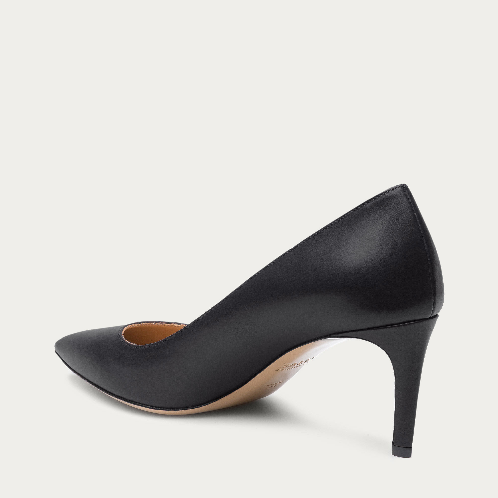 Bally Elaise Women's Leather Pump In Black in Black