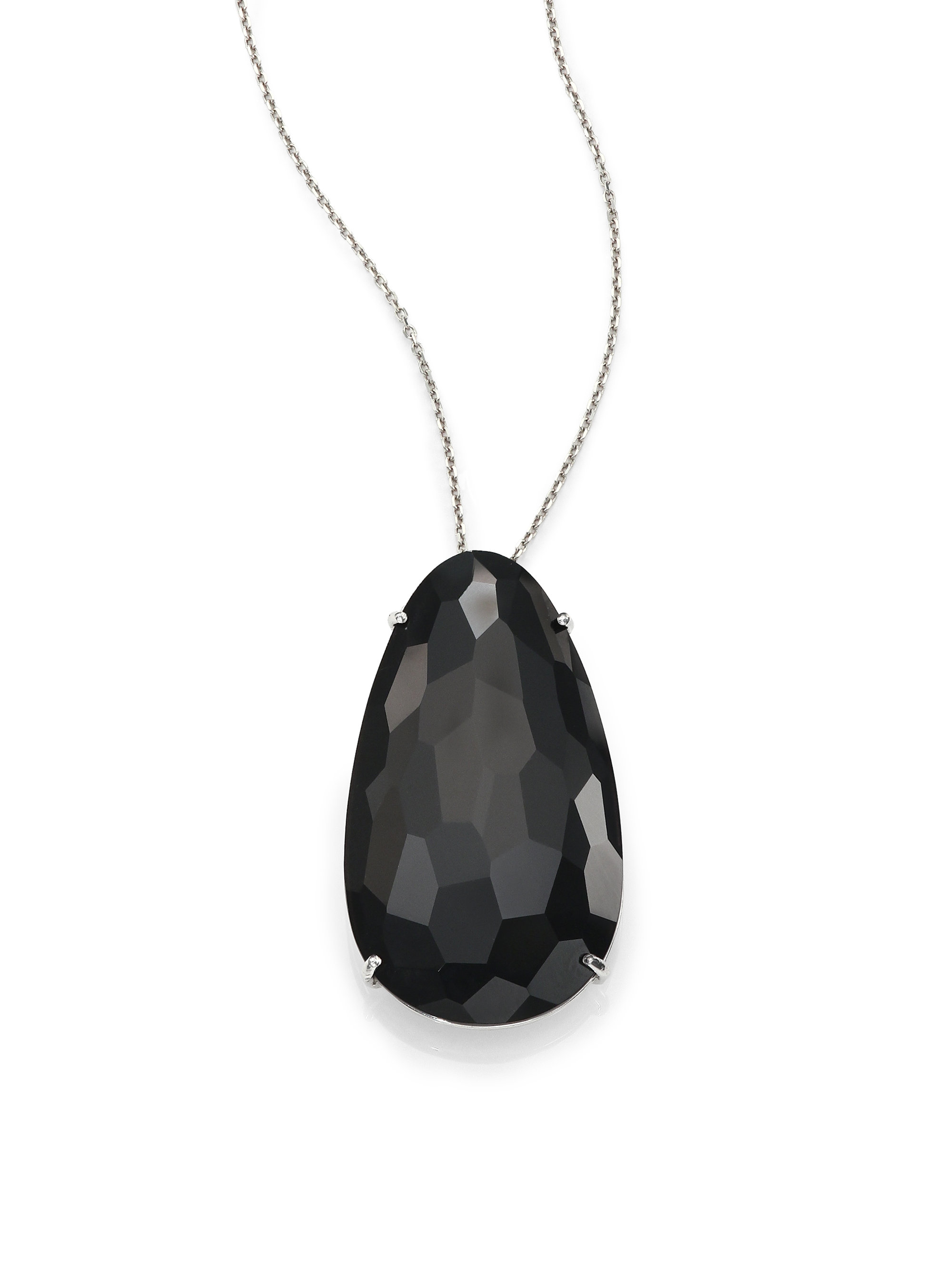 collections classic graff featuring a diamond shape pear pendant pendants necklace