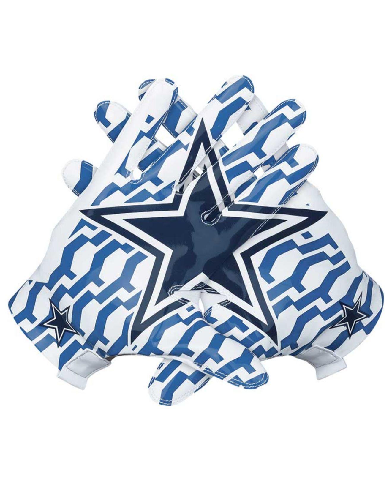 lyst nike dallas cowboys vapor fly team authentic glove