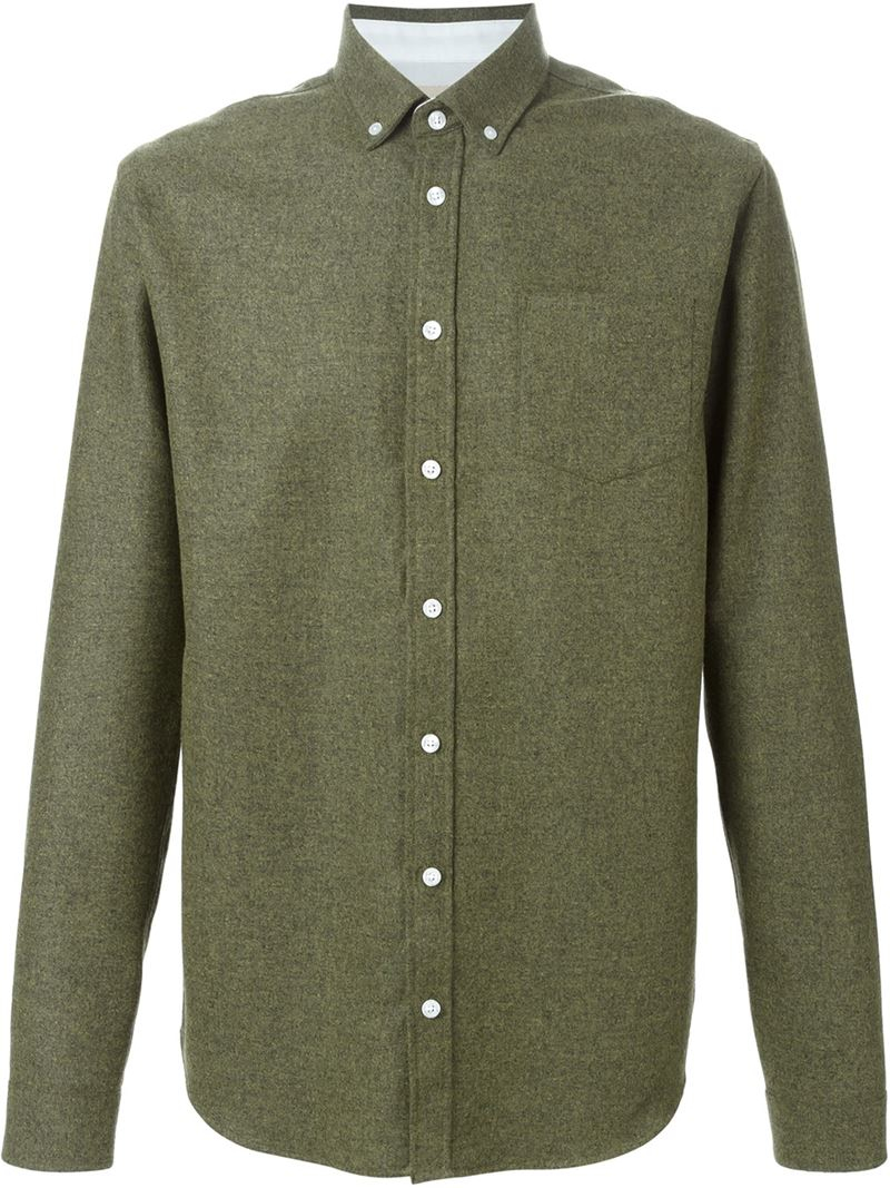 Lyst Libertine Libertine Hunter Shirt In Green For Men