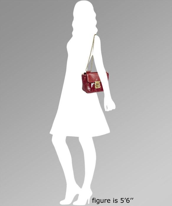 fake chloe handbag - elsie mini bag in python