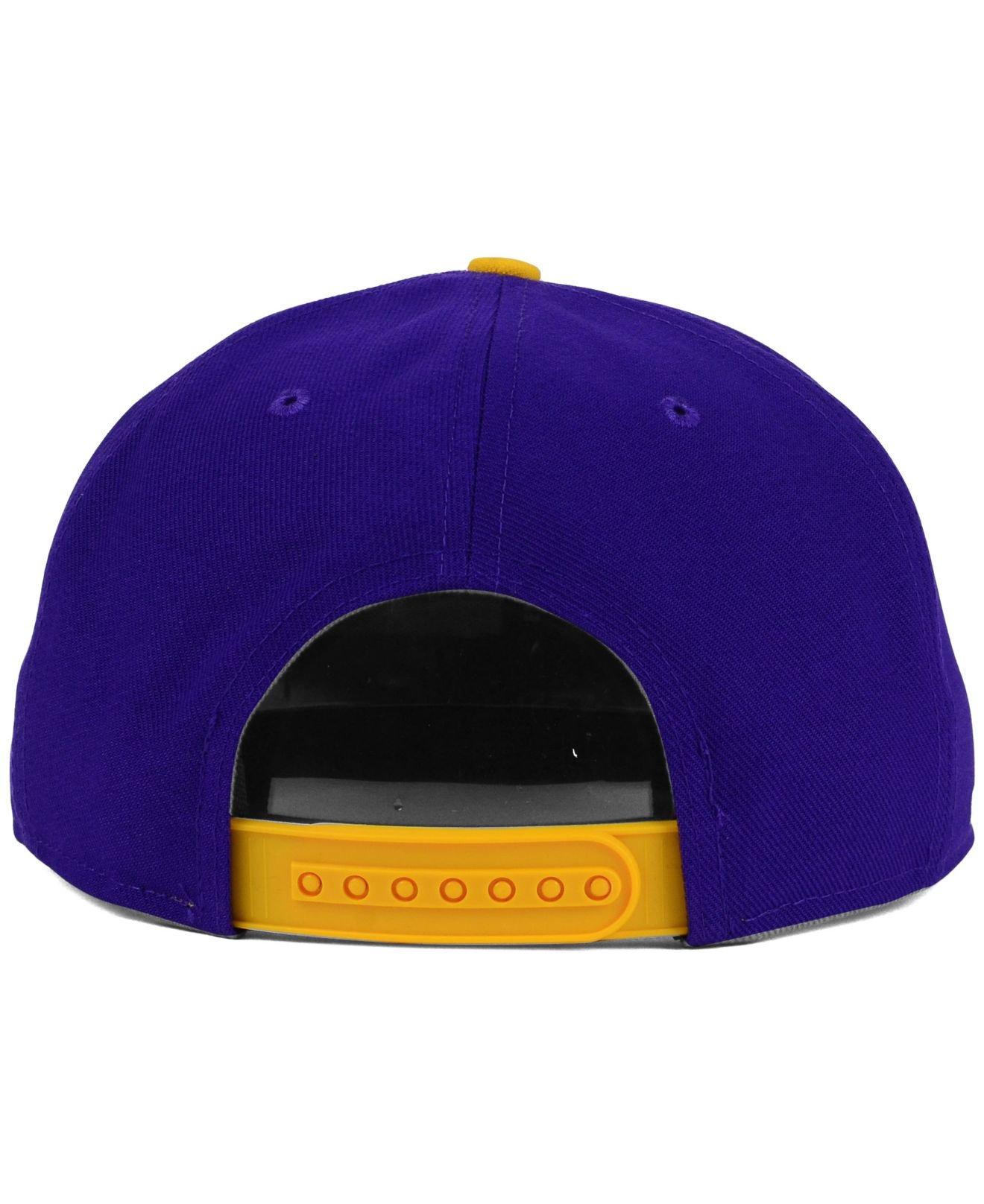 Nike Lsu Tigers True Seasonal Snapback Cap In Blue For Men Lyst