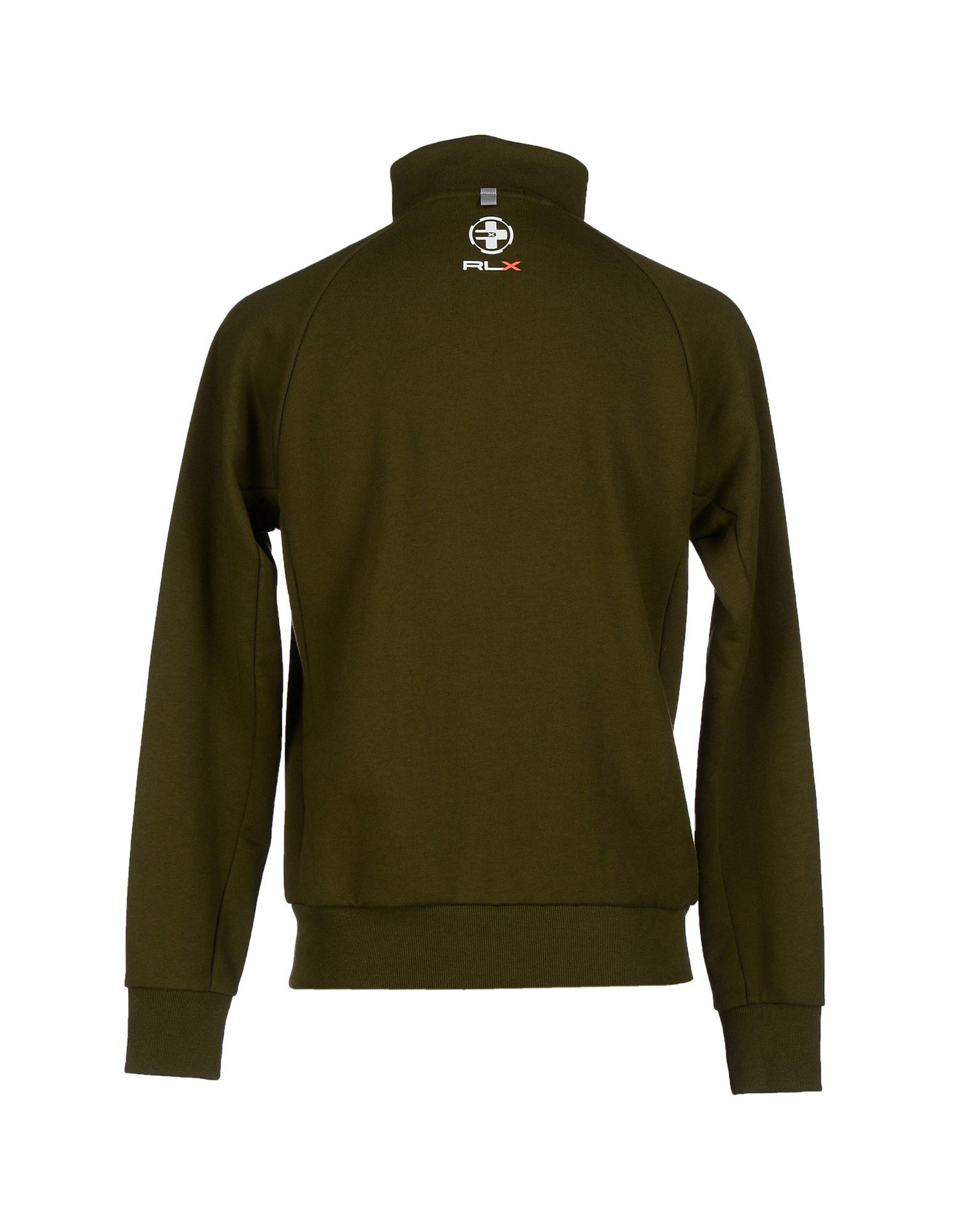 rlx ralph lauren sweatshirt in green for men lyst. Black Bedroom Furniture Sets. Home Design Ideas