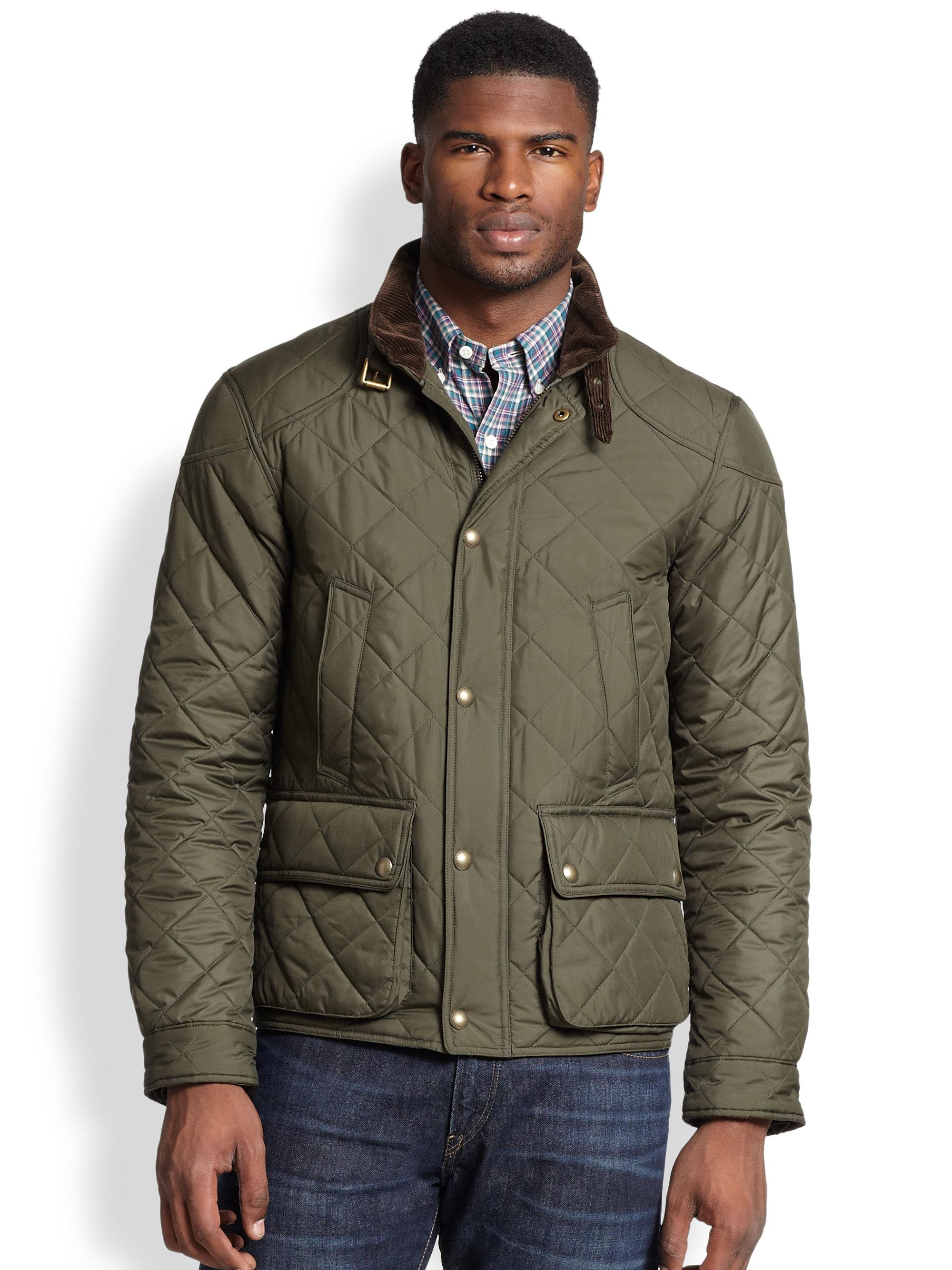 Quilted Lauren Ralph Jacket Sis Bomber Cadwell Solutions m0Nwvn8
