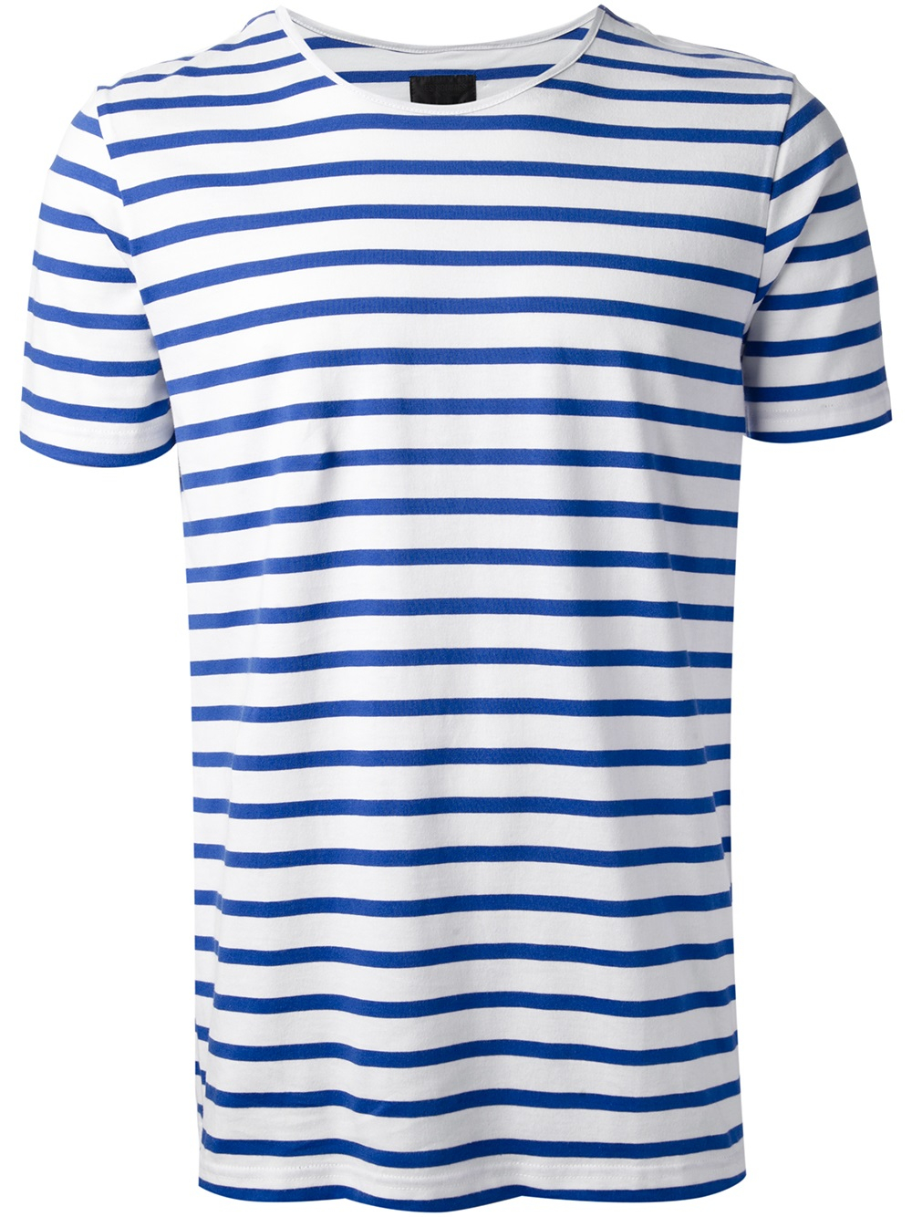 Les hommes Striped Tshirt in Blue for Men | Lyst