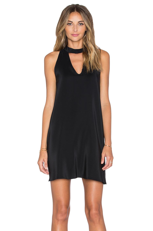 Lyst Amanda Uprichard Cassia Dress In Black