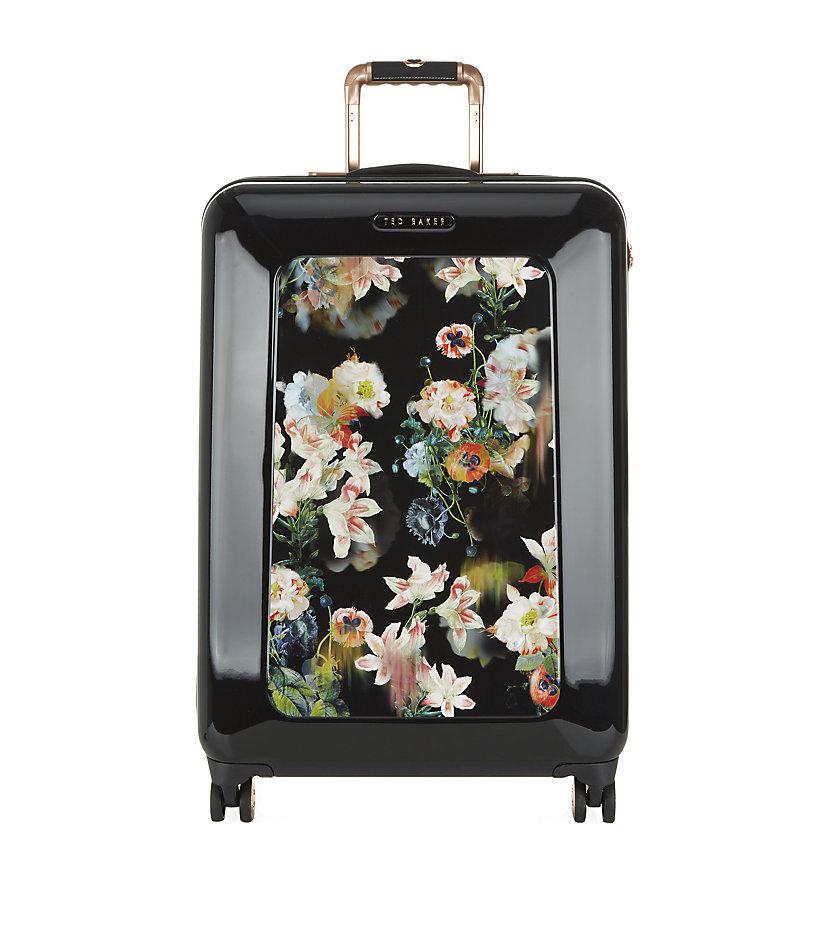 Ted Baker Embark Medium Herringbone Suitcase 70cm In