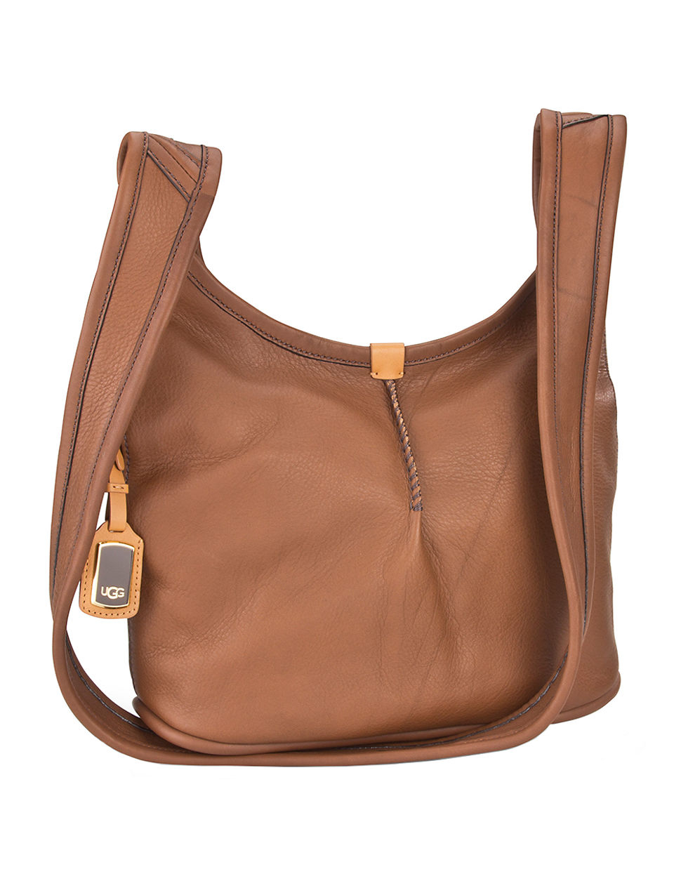 Ugg Carmen Small Crossbody Hobo Bag in Brown | Lyst