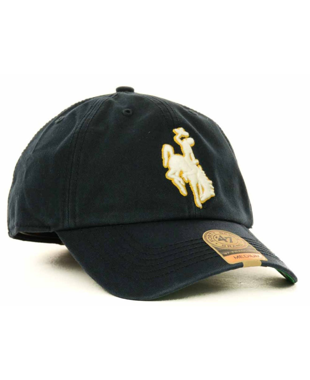 eec2690703c Lyst - 47 Brand Wyoming Cowboys Franchise Cap in Blue for Men