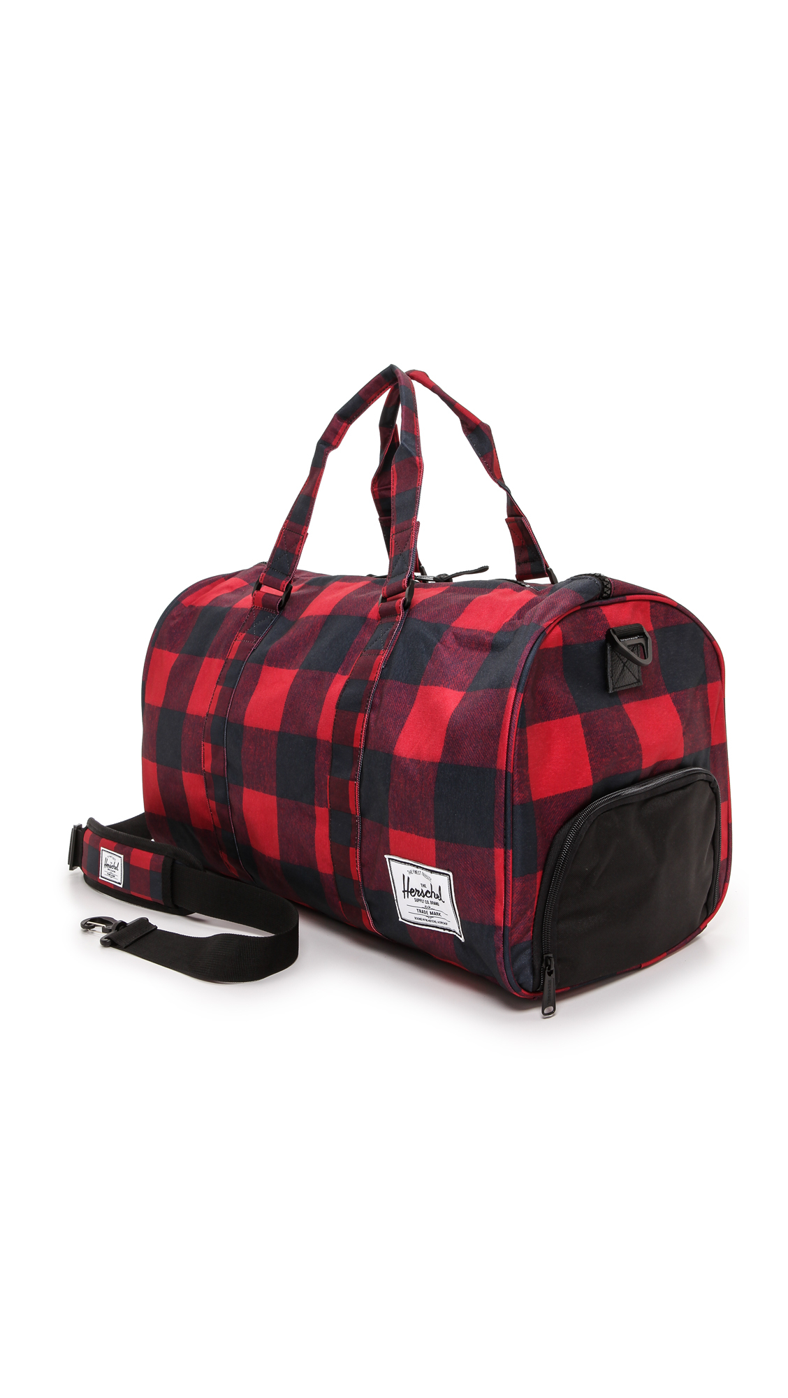 Herschel supply co. Novel Weekender Bag - Buffalo Plaidblack in ...