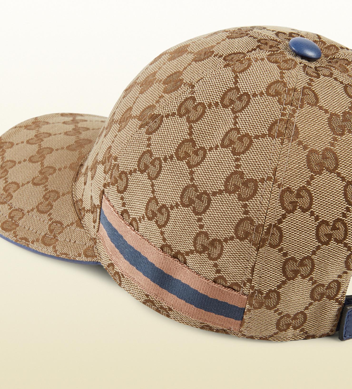 a04dbca89e4b1 Gucci Original Gg Canvas Baseball Hat in Natural for Men - Lyst