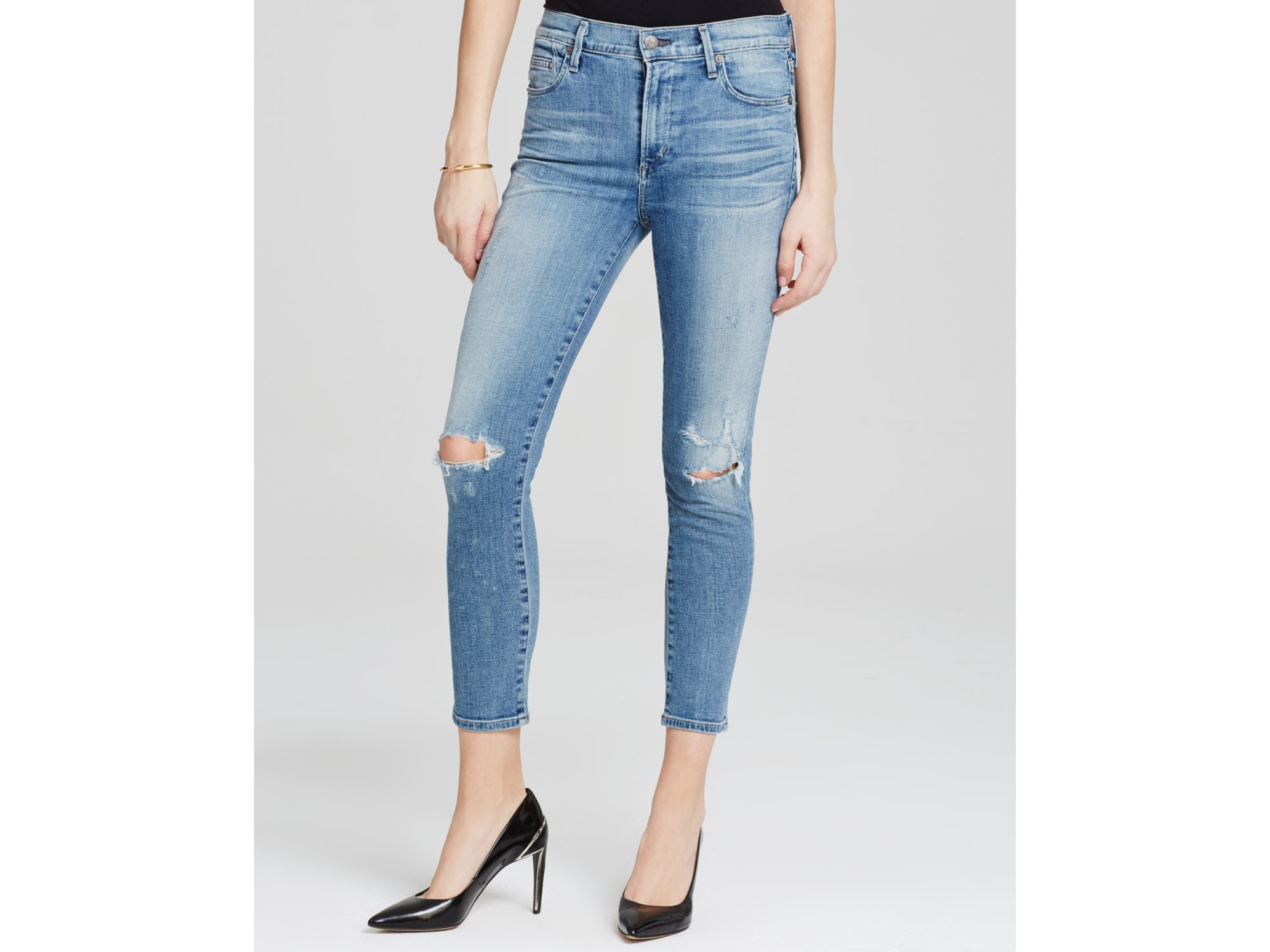 Citizens Of Humanity skinny cropped jeans 2018 Newest Online C5Ijw7EJU