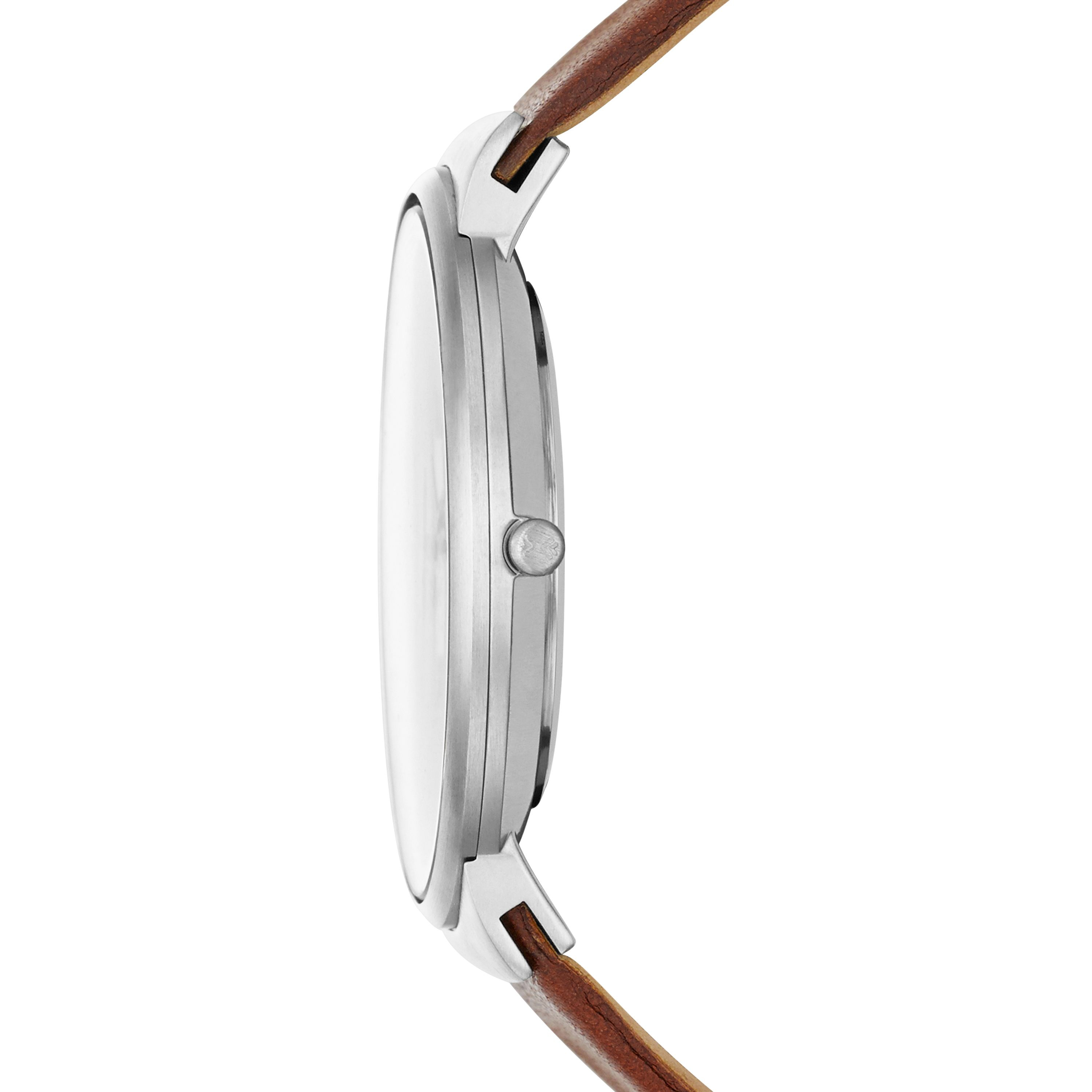 Skagen Skw6082 Ancher Tan Leather Mens Watch in Brown for ...