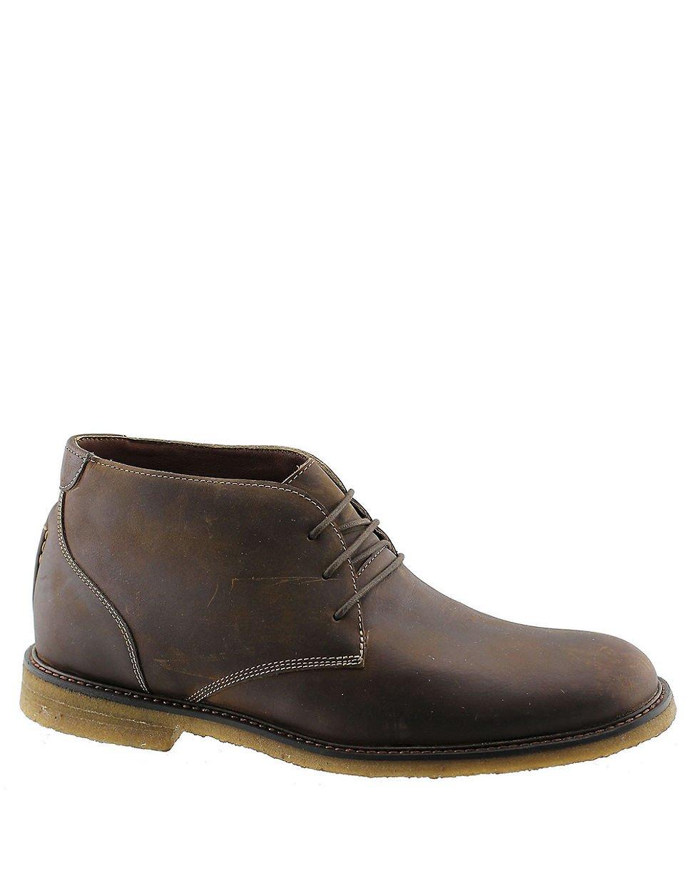 johnston murphy copeland chukka boots in multicolour for