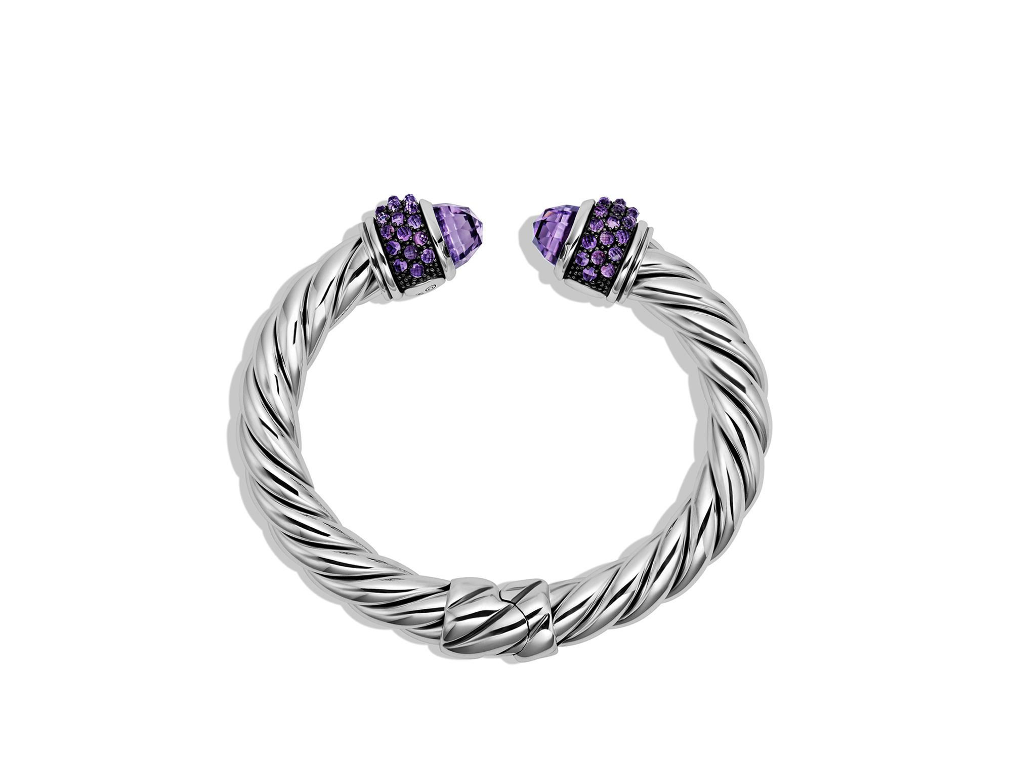 David Yurman Osetra Bracelet With Amethyst In Purple Lyst