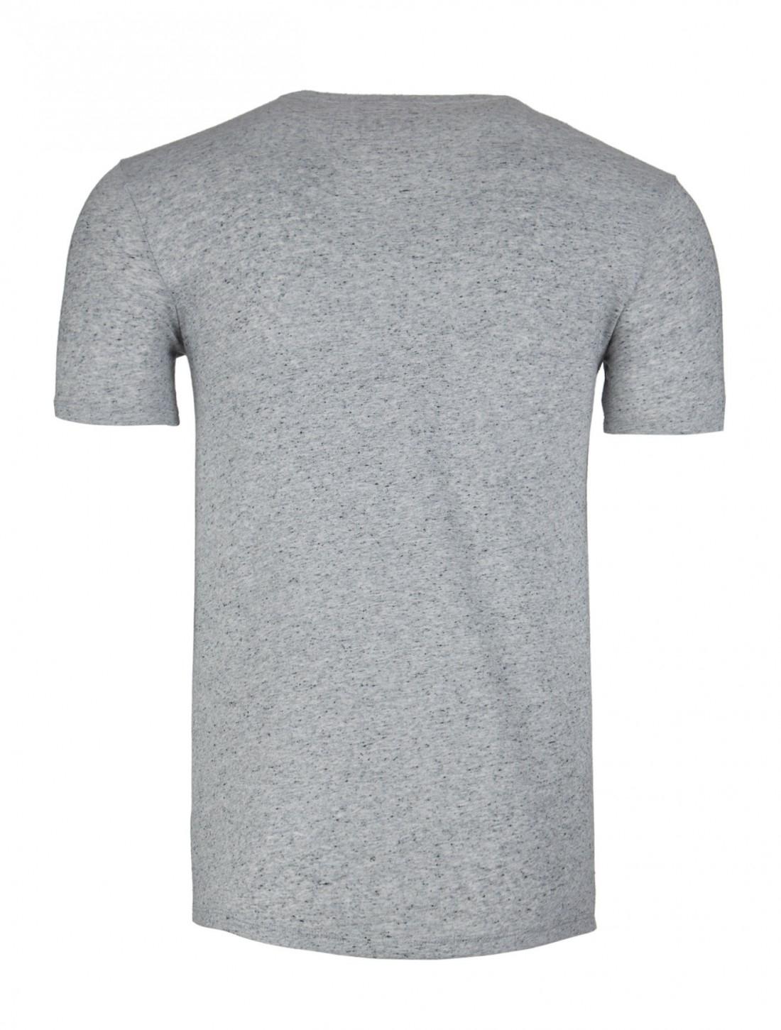 Atm heather pocket t shirt in gray for men heather grey Mens heather grey t shirt