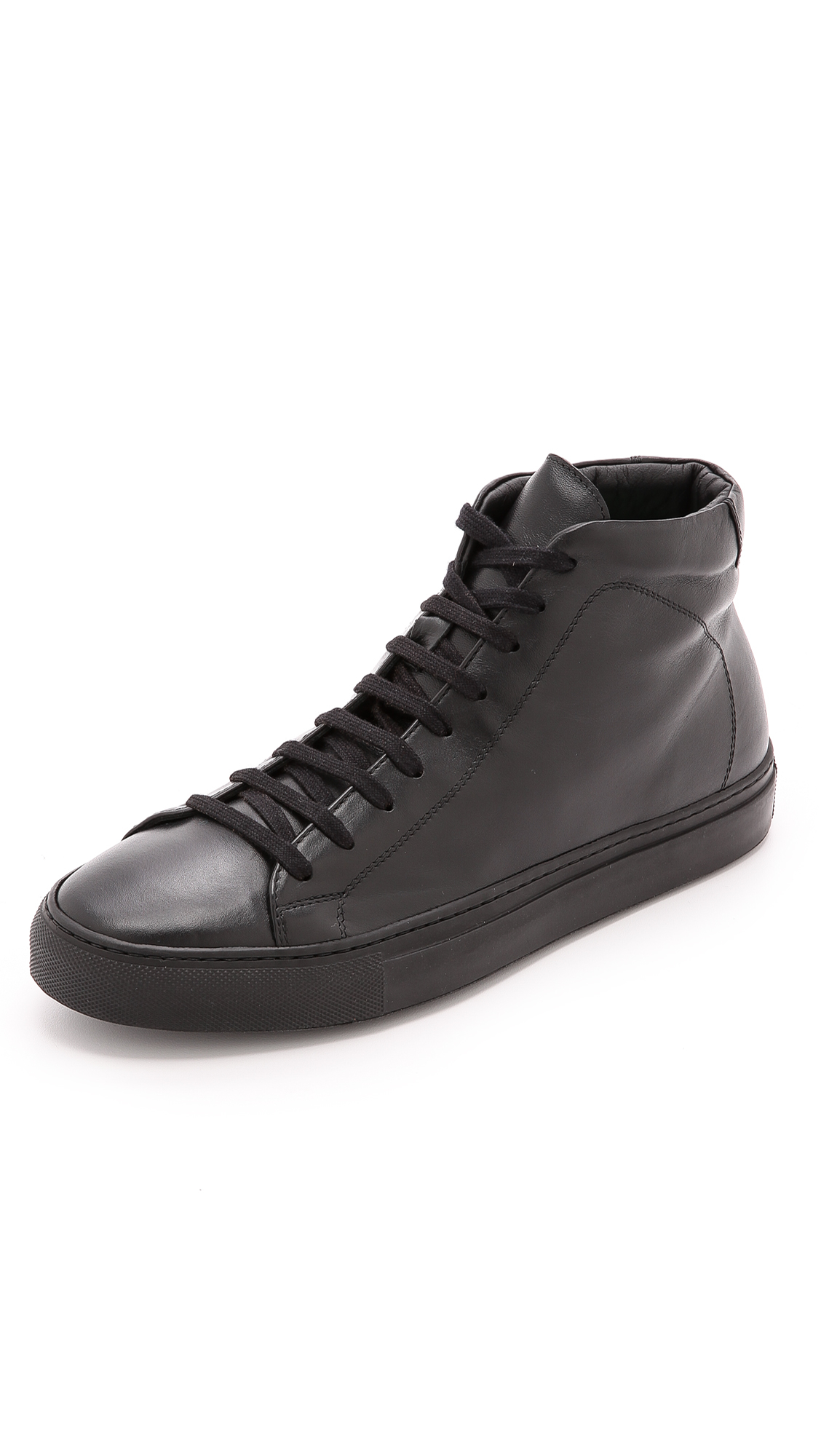 Lyst - Svensson Classic High Top Sneakers in Black for Men fd62c1aba41
