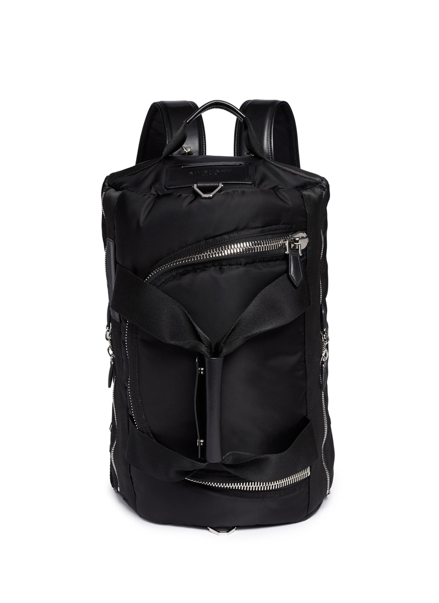 Lyst Givenchy Nylon Duffle Backpack In Black For Men