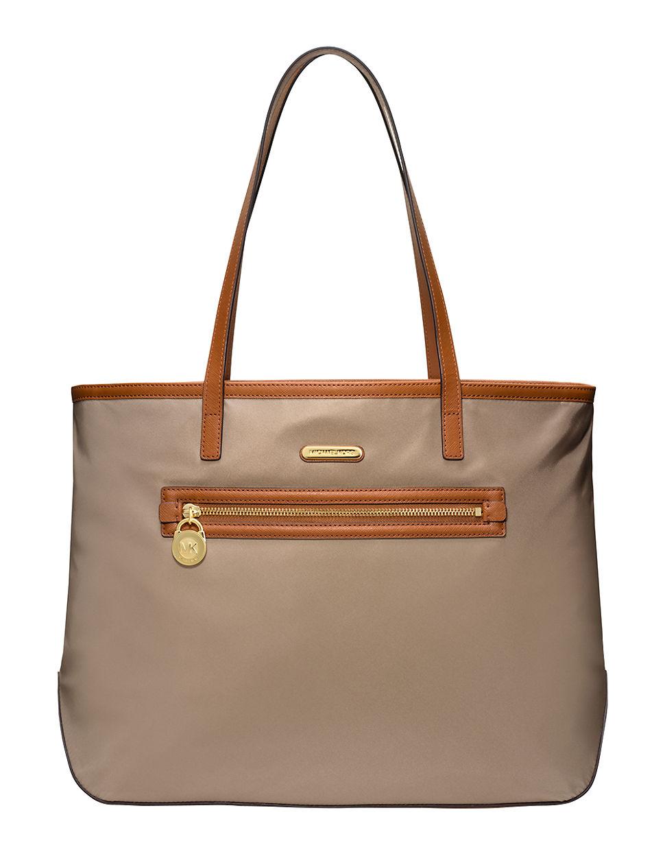36a7f04755c1be Lyst - MICHAEL Michael Kors Kempton Large Nylon East West Tote Bag ...