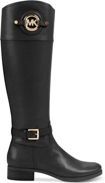Michael Kors Michael Stockard Tall Boots In Black Lyst