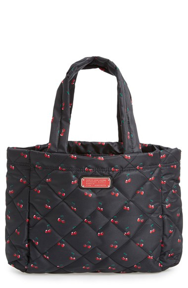 Lyst - Marc by marc jacobs 'small Crosby' Quilted Nylon Tote in Red : marc by marc jacobs quilted tote - Adamdwight.com