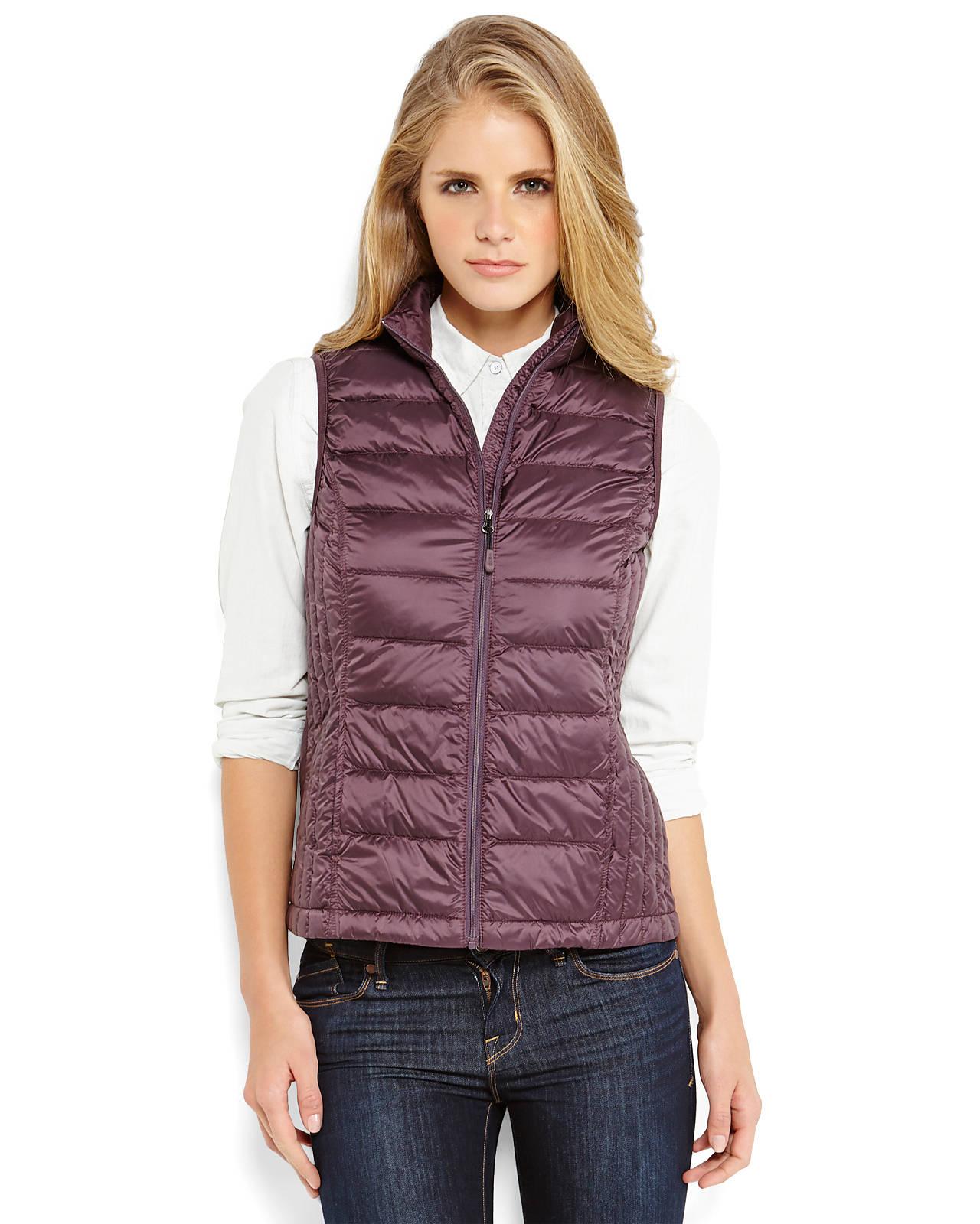 Weatherproof 32 Degrees Packable Down Vest In Purple Lyst