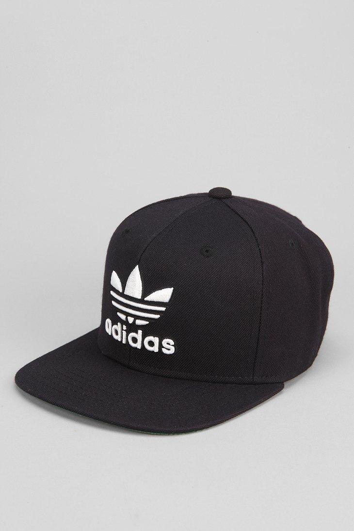 3cd96aa0fd4 ... denmark lyst adidas originals thrasher classic snapback hat in black  for men 56e7e b8754