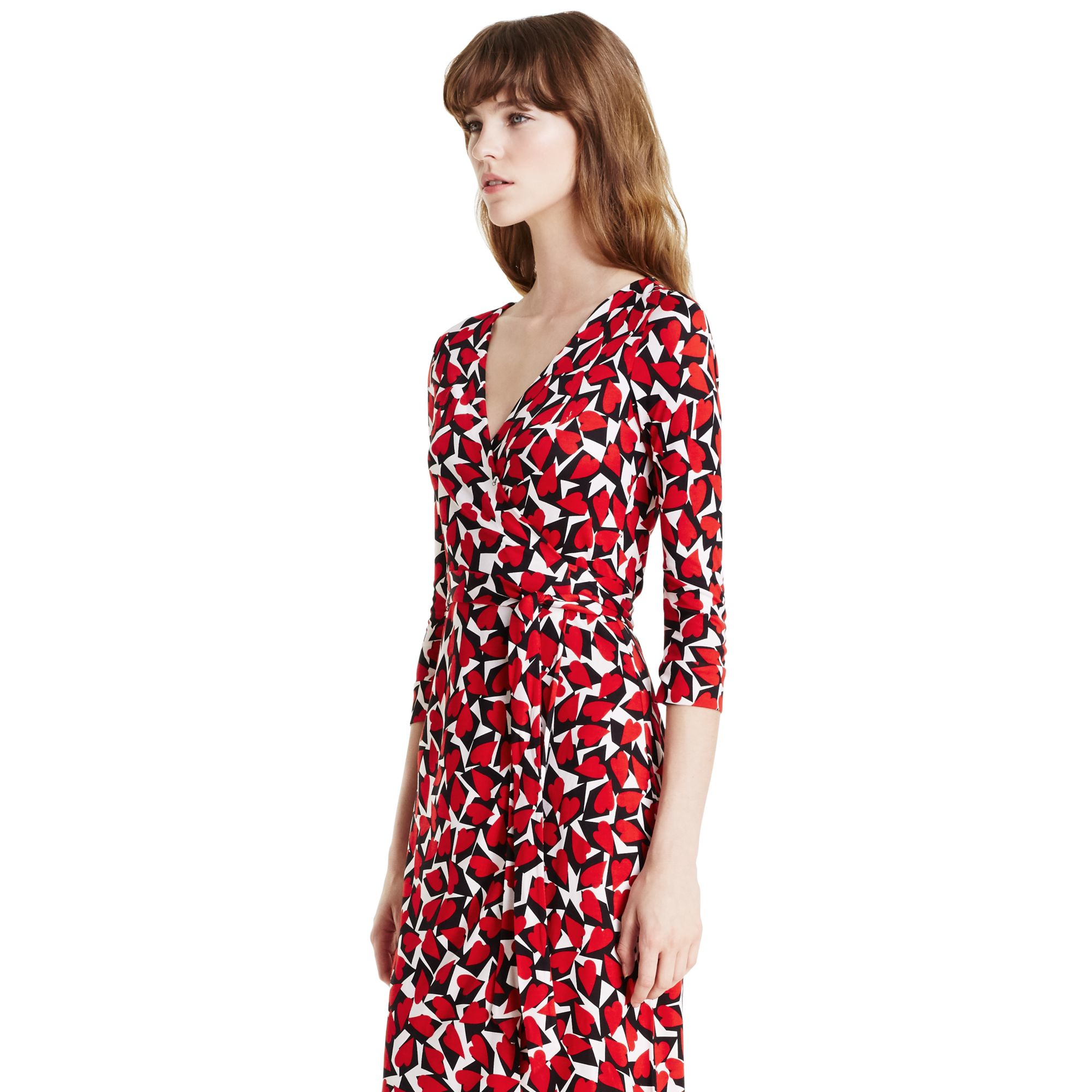 Outlet Discount Sale Discount Cheapest New Julian floral silk dress Diane Von Fürstenberg Find Great Cheap Price Sale Brand New Unisex j0CyD