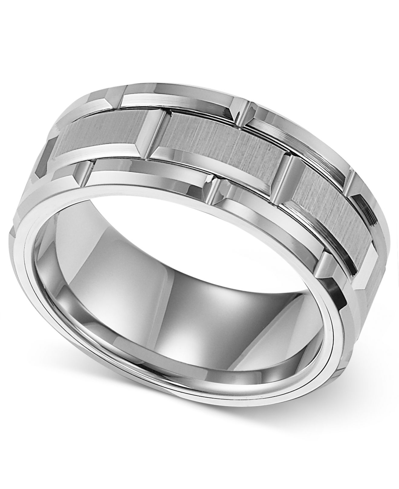 Triton 8mm White Tungsten Wedding Band In White For Men  Lyst. Sets Wedding Rings. Oval Shaped Engagement Rings. Girl Latest Model Rings. 0.1 Carat Wedding Rings. Rate Rings. Plant Wedding Rings. Orca Rings. Small Engagement Rings