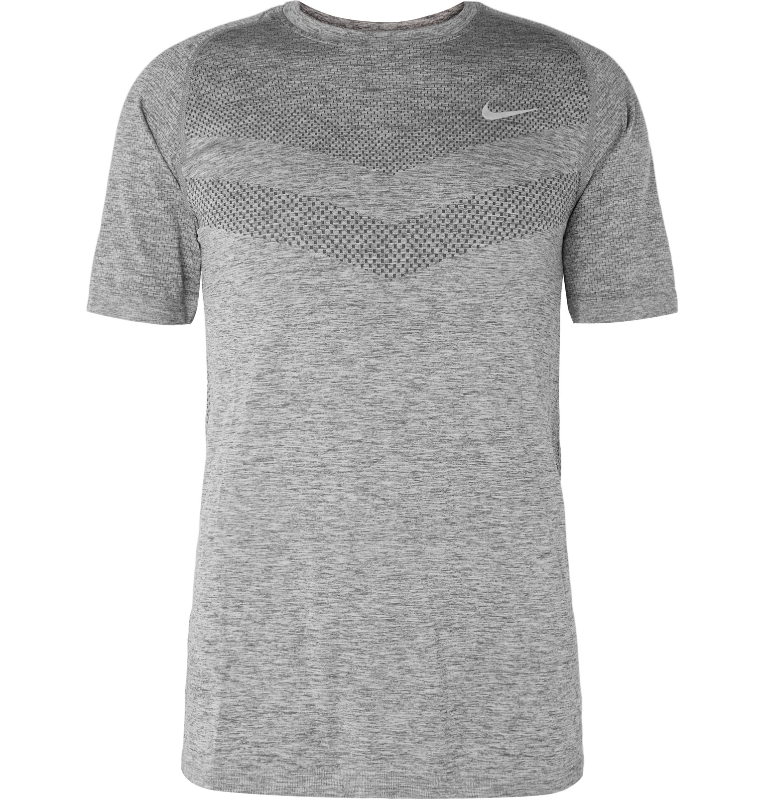 5fdd7b7a9e6 Nike Mélange Dri-fit T-shirt in Gray for Men - Lyst