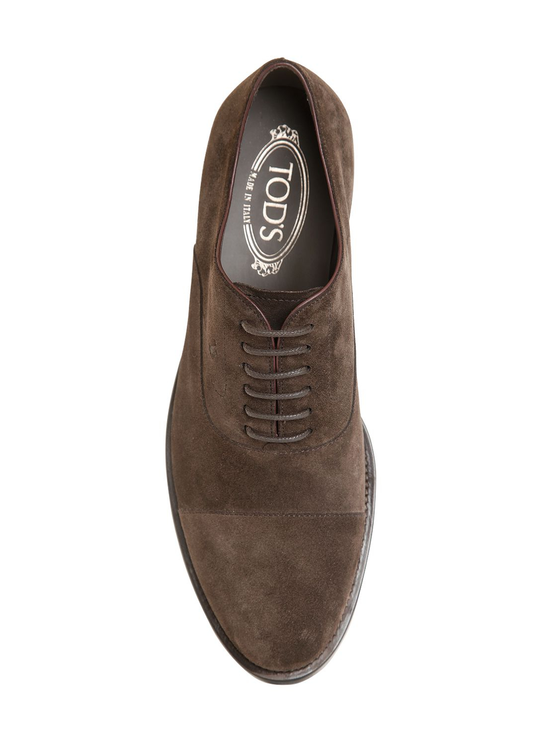 Suede Oxford shoes Tod's GxxlOh2rmb