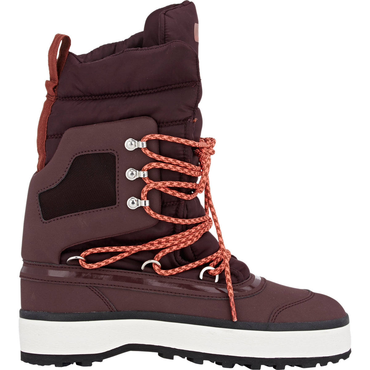 Adidas by stella mccartney Women's Winter Boots in Red | Lyst