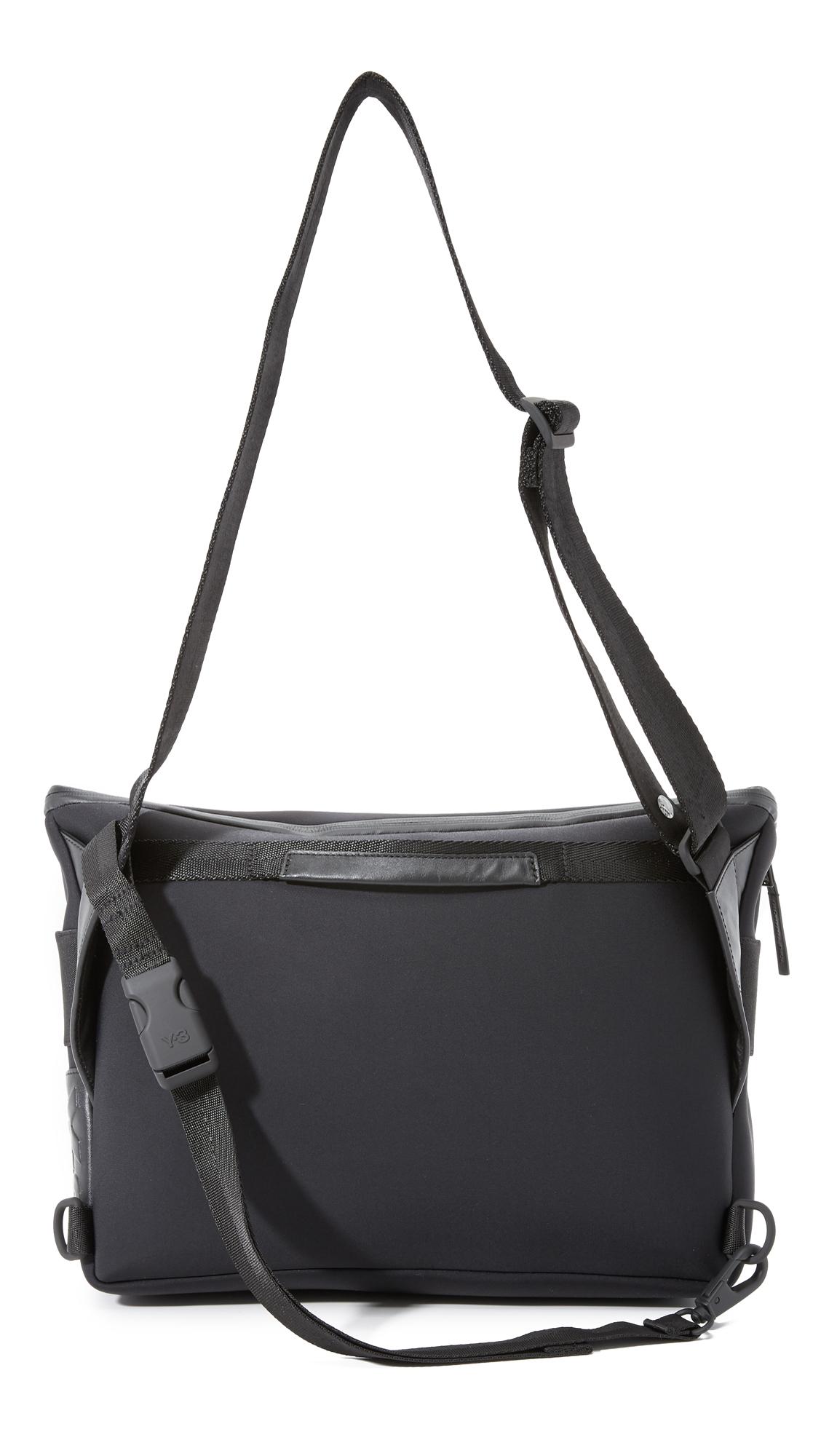 903b917c9ae Lyst - Y-3 Qasa Messenger Bag in Black for Men