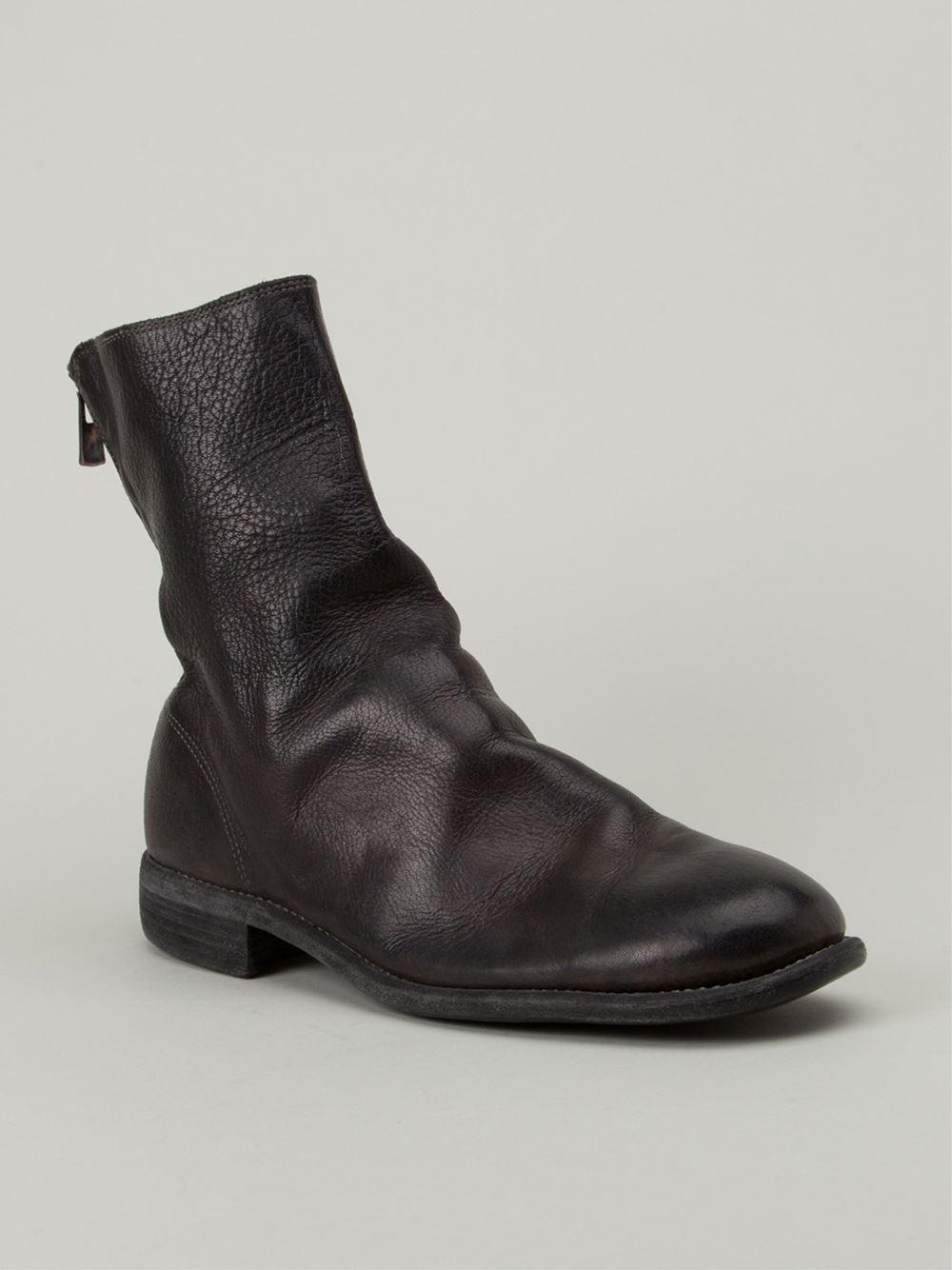 In For Boots Lyst Men Back Guidi Zip Black xnCnwpqvtI