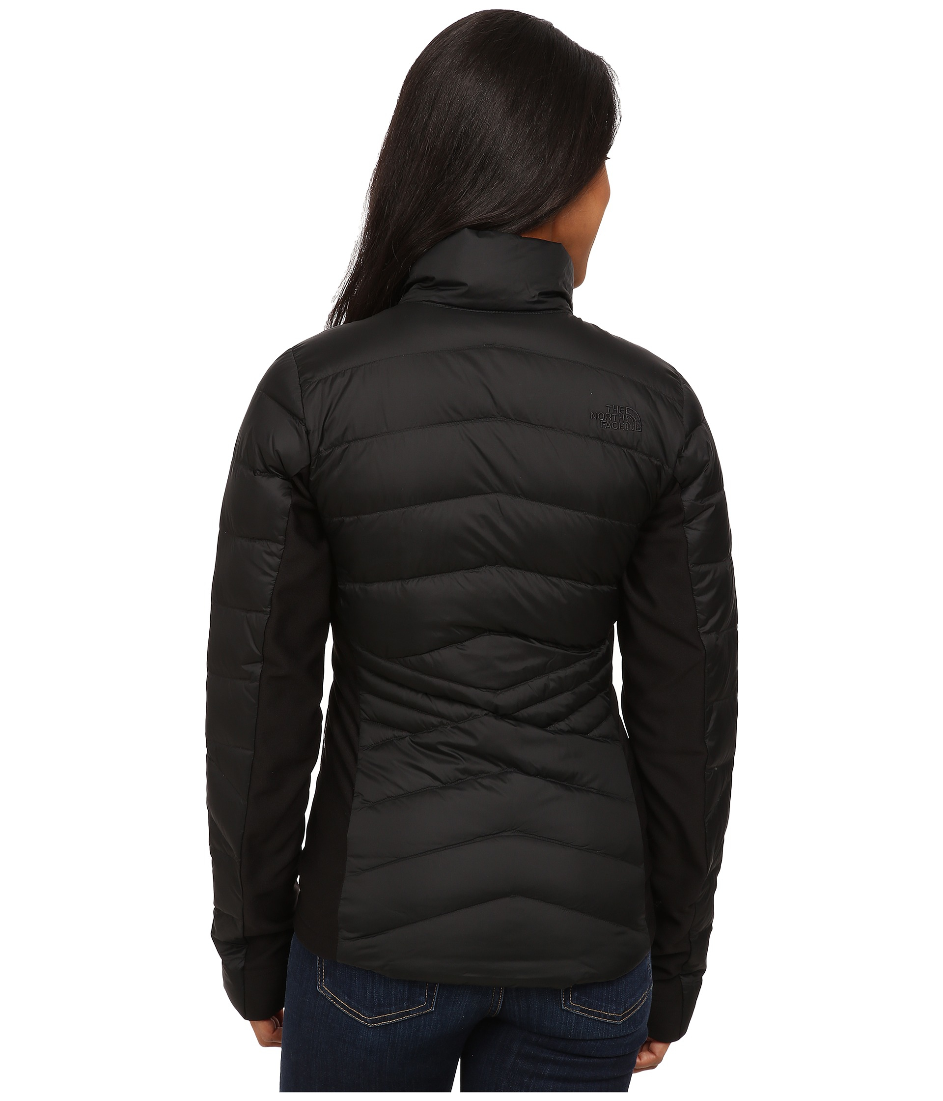 94b5c4973882 Lyst - The North Face Lucia Hybrid Down Jacket in Black