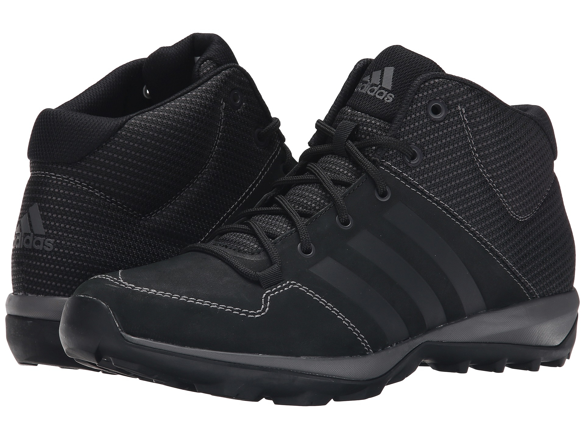 best service 5f554 4d455 Lyst - adidas Daroga Plus Mid Leather in Black for Men