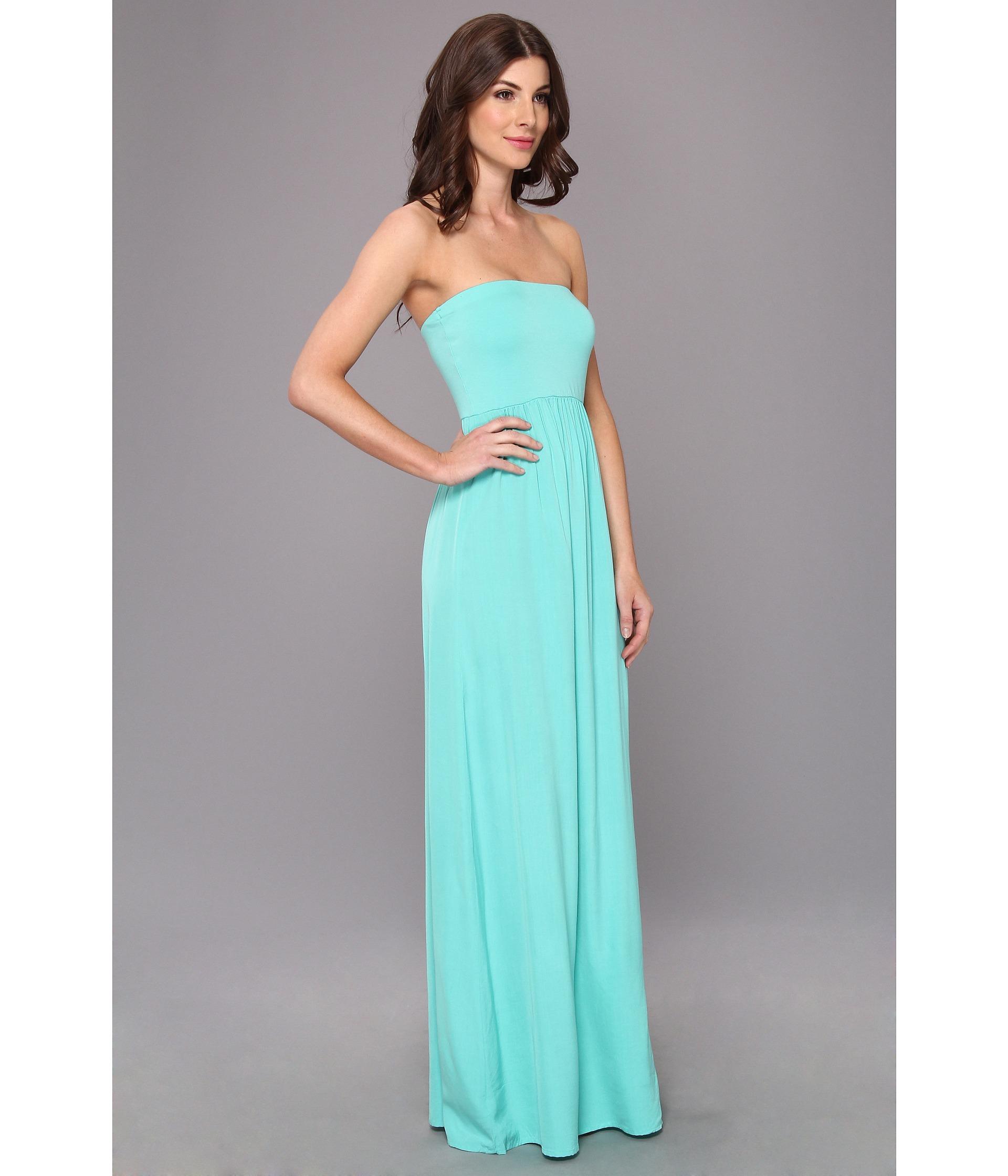 6c2c24ef87a5a Tube Top Maternity Maxi Dress