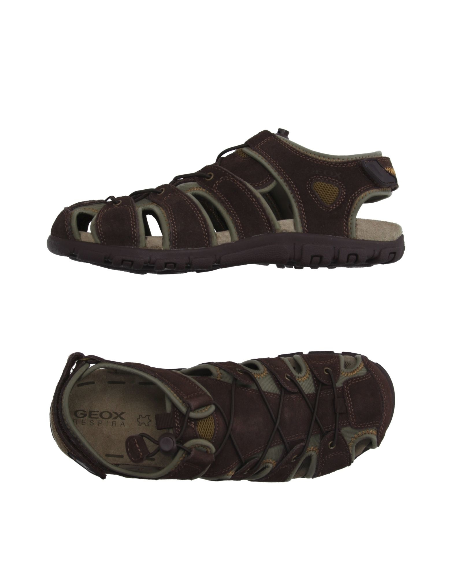 368cb4aba Geox Sandals in Brown for Men - Lyst