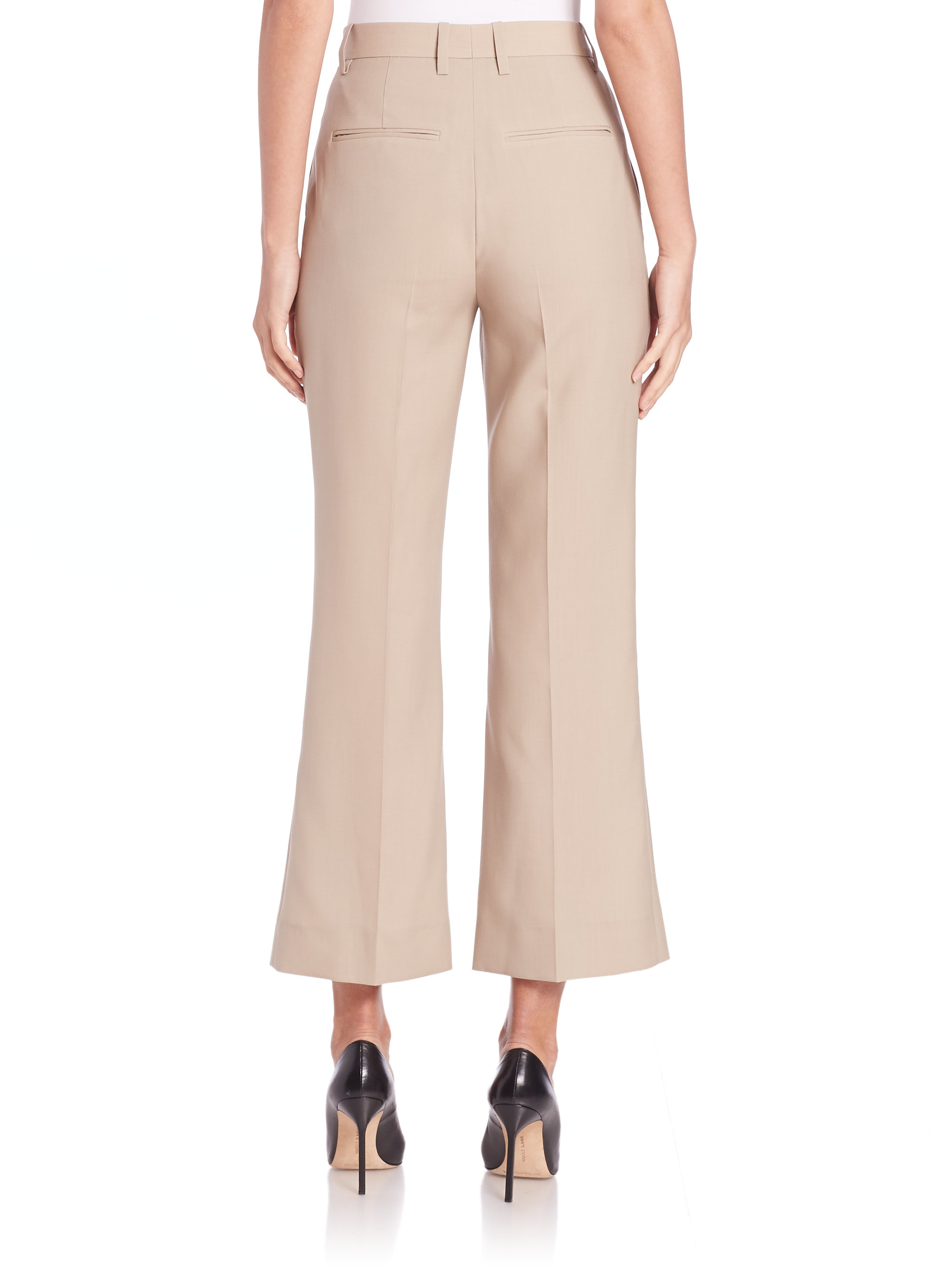 With Paypal Online 2018 Cheap Price Light wool classic pants Nina Ricci 100% Original MXDl69R