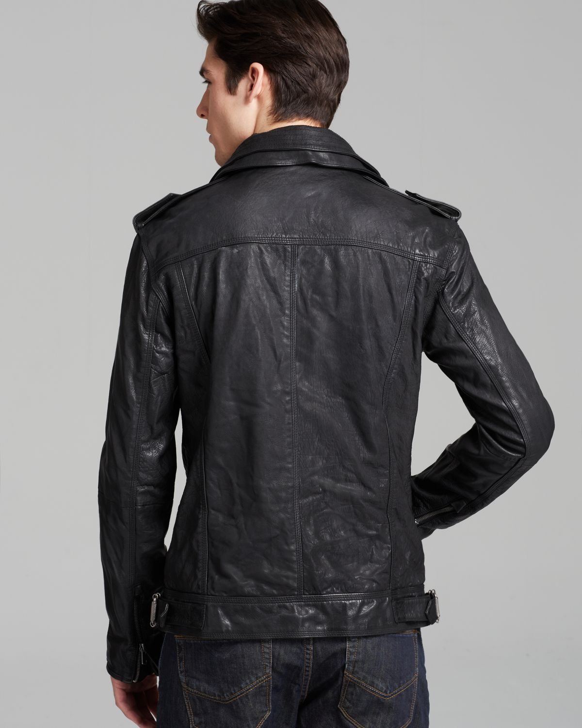 Leather jacket superdry - Gallery