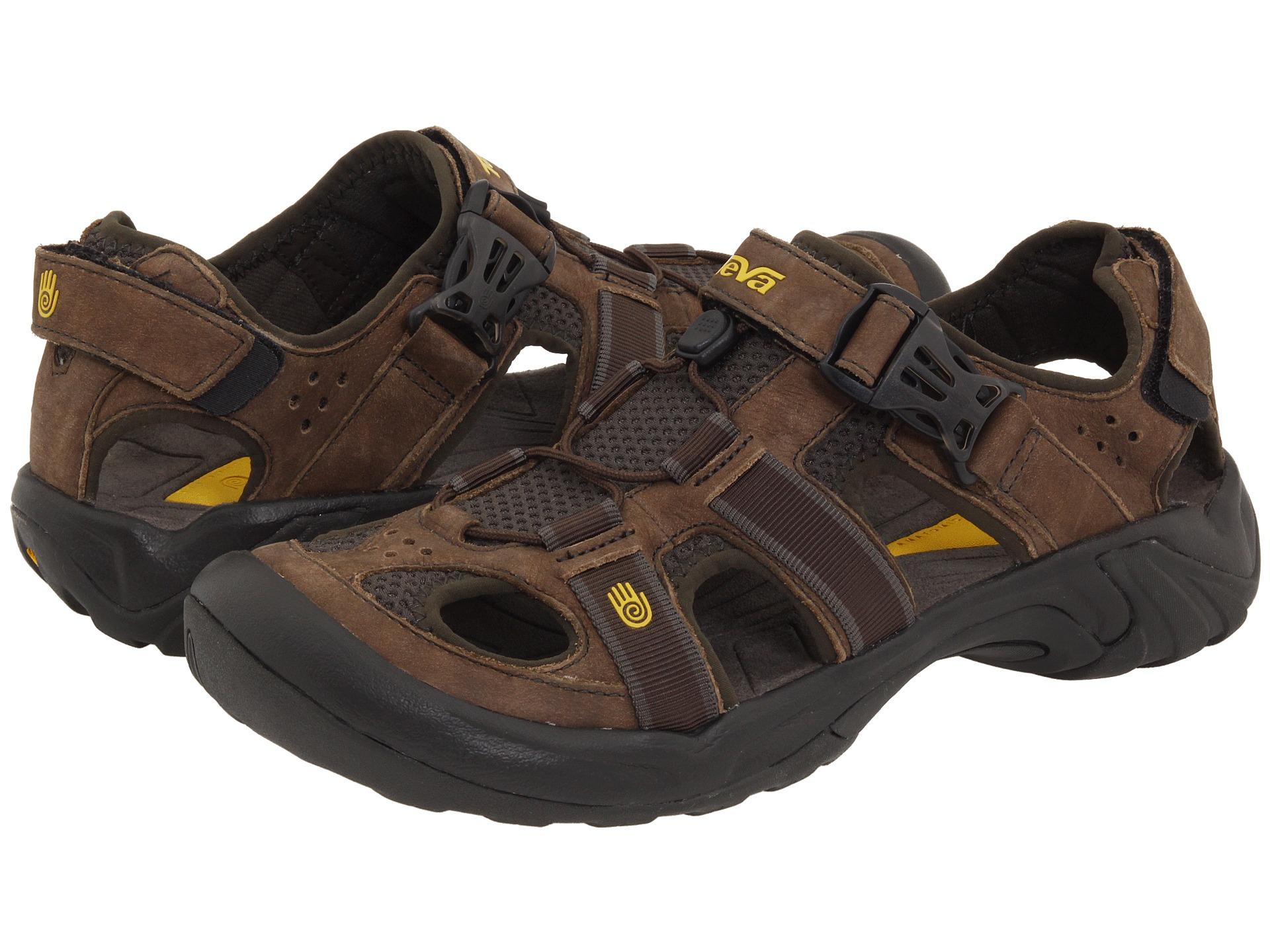 Teva Omnium Leather In Brown For Men Lyst