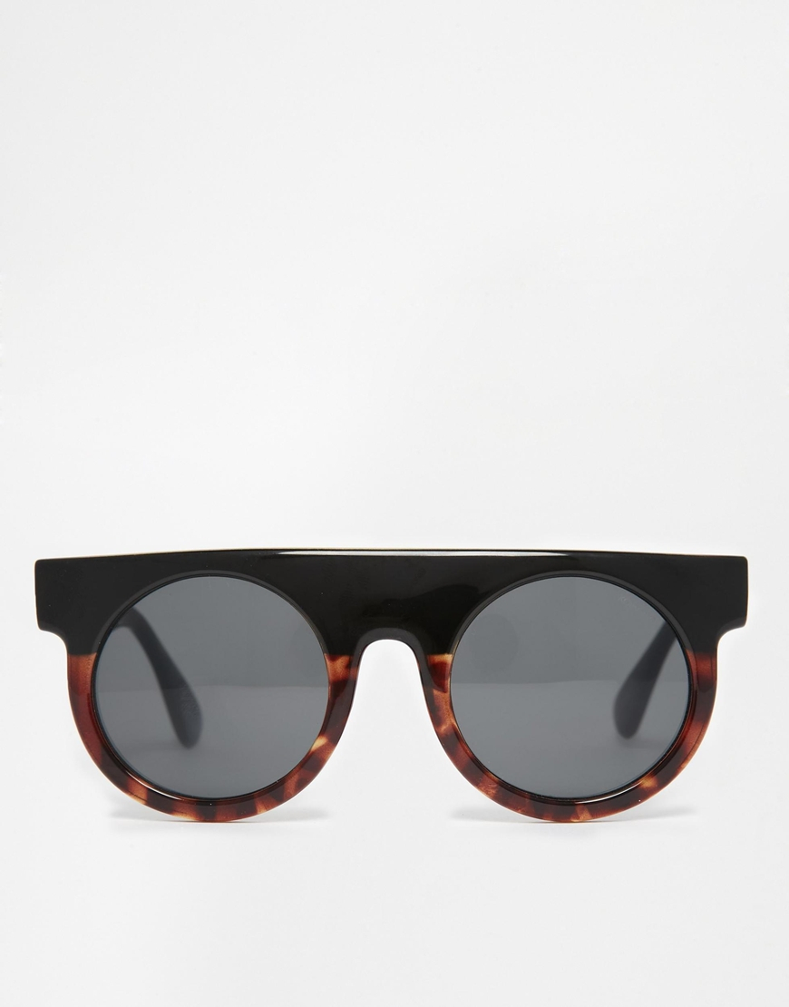 1f91d330da863 Komono Hippolyte Round Sunglasses in Black for Men - Lyst