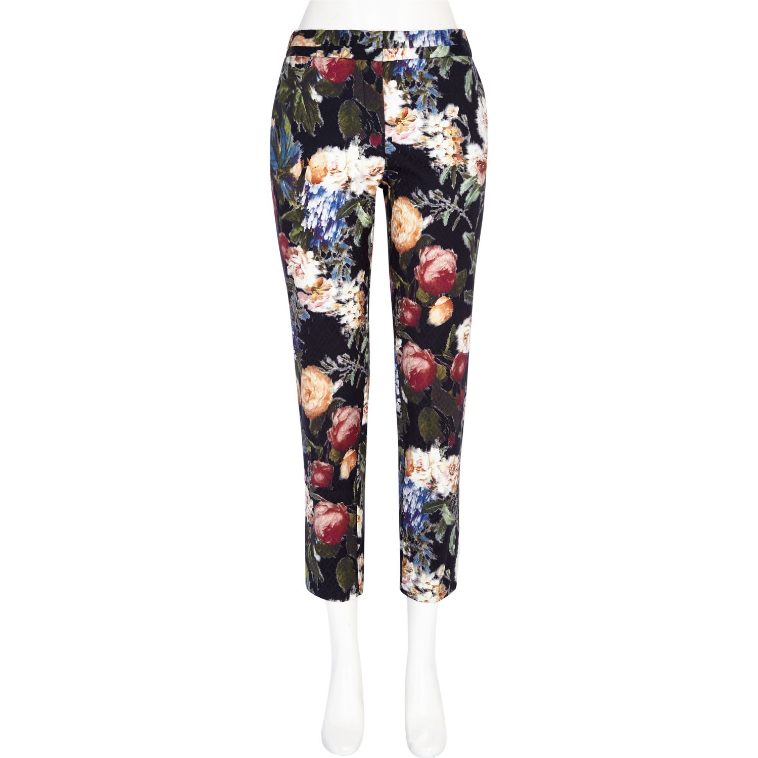 Available in Black Floral Print Pair with