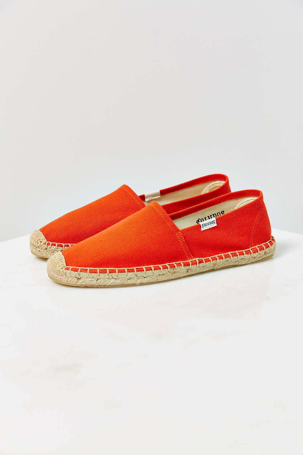 bcbed03988f2 Lyst - Soludos Dali Espadrille Slip-on Shoe in Red