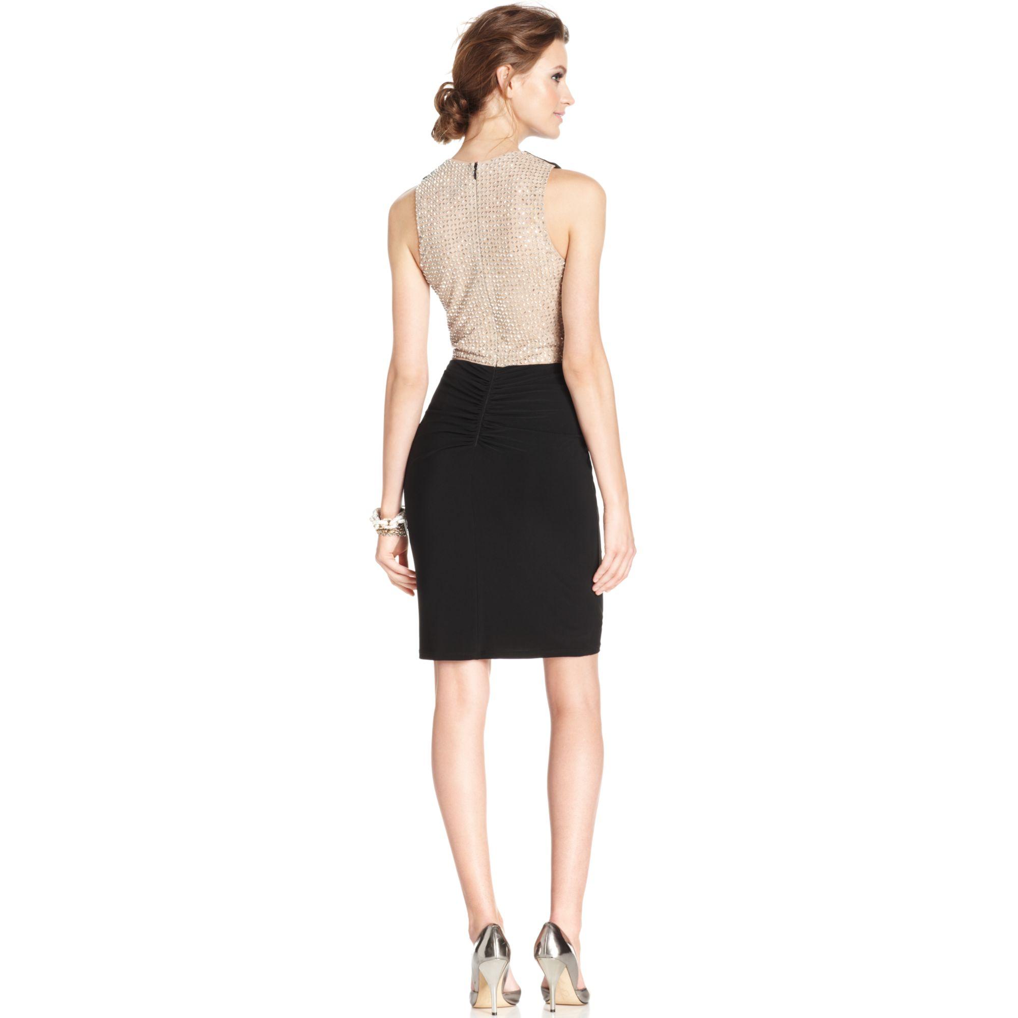 Xscape Beaded Dress
