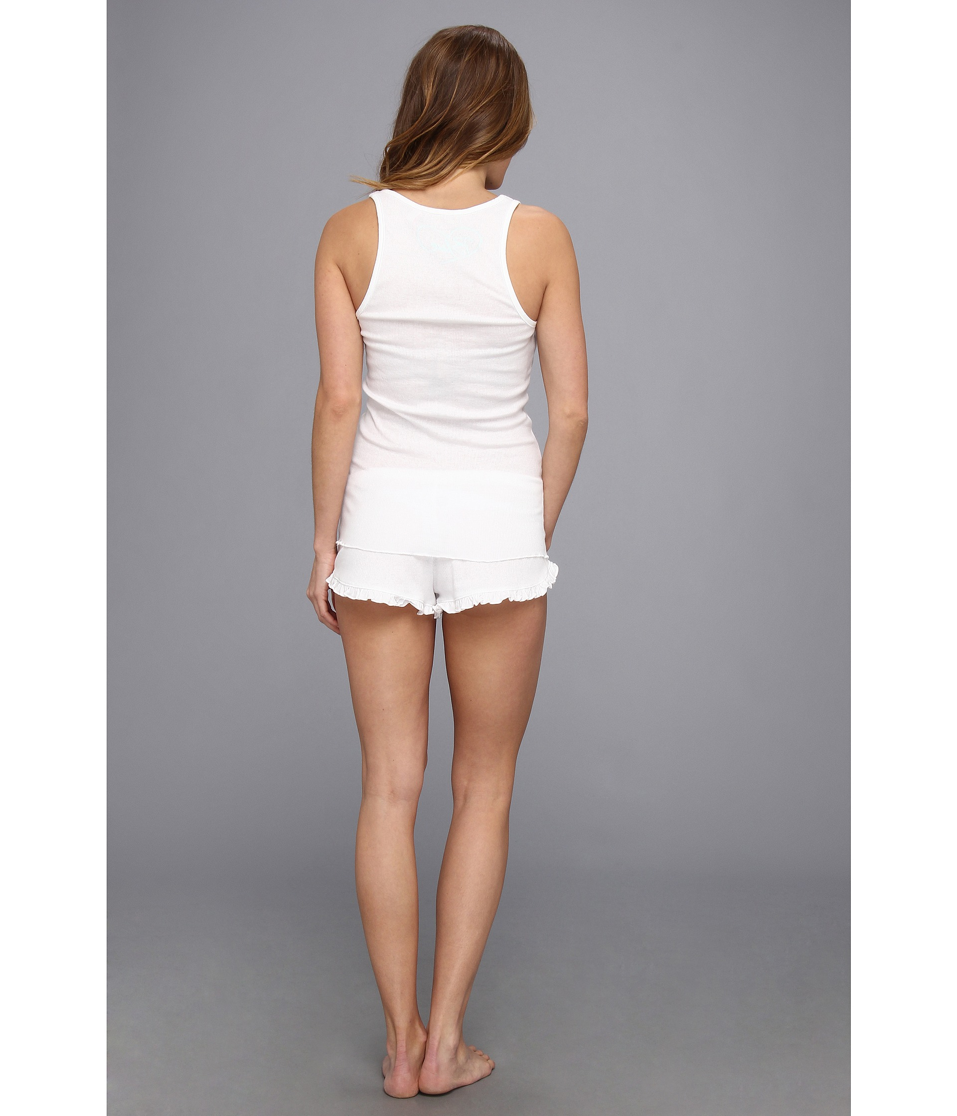 Lyst - Betsey Johnson Bridal Wifeybachelorette Short Set in White