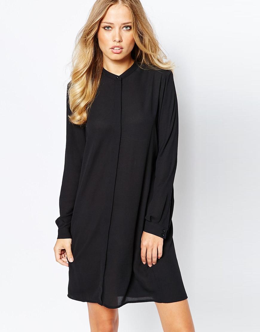 Blumarine Long Black Dress
